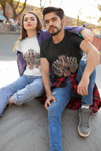 Load image into Gallery viewer, RollUp Unisex Snake Skull T-Shirt