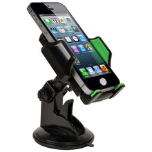 Load image into Gallery viewer, Custom Accessories  Goxt  Black  Cell Phone Holder  For Universal
