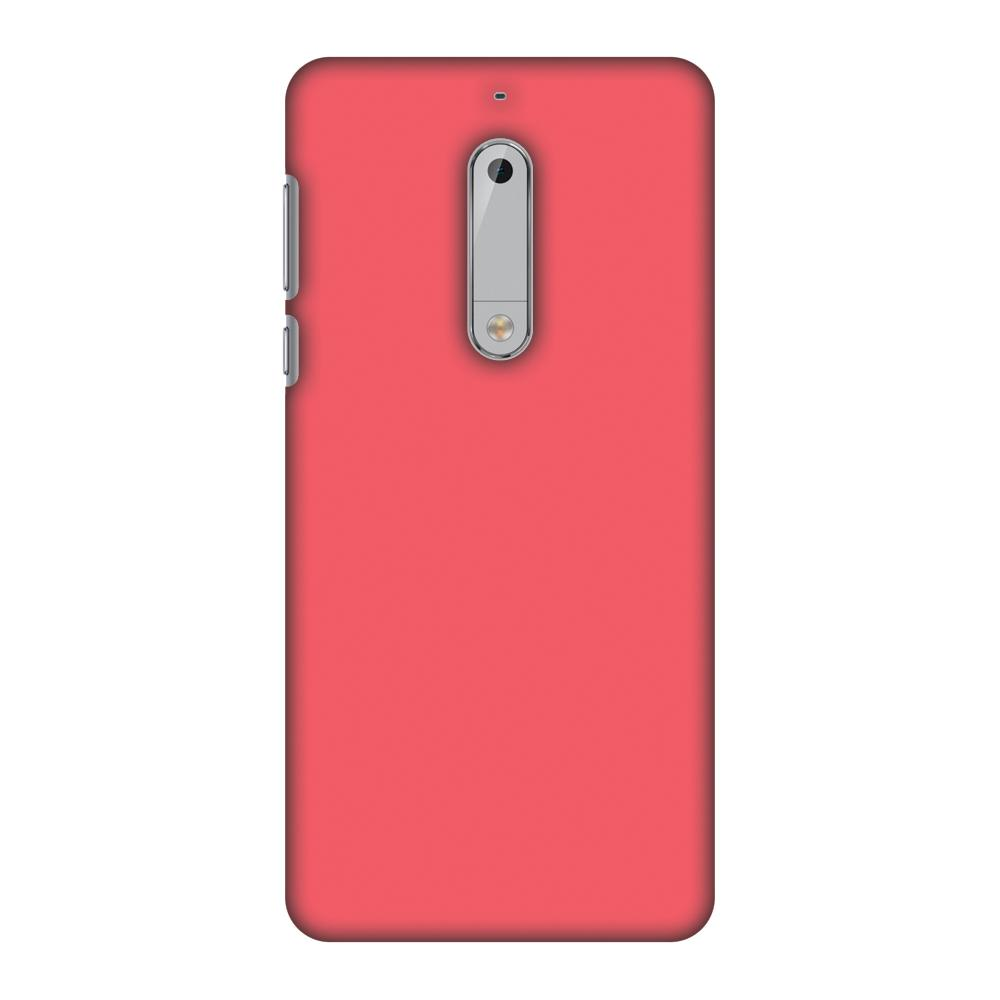 Amaranth Red Slim Hard Shell Case For Nokia 5