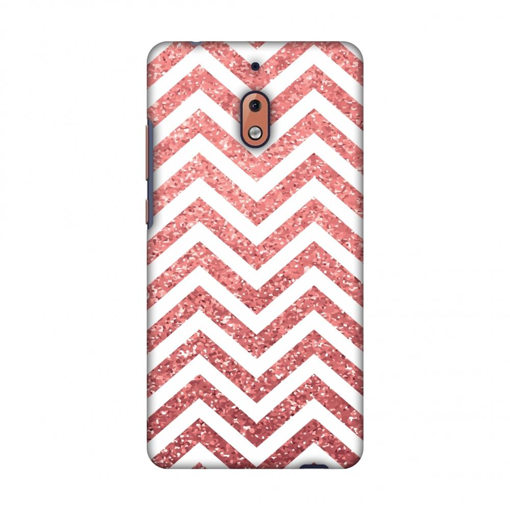 Chevron 1 Slim Hard Shell Case For Nokia 2.1