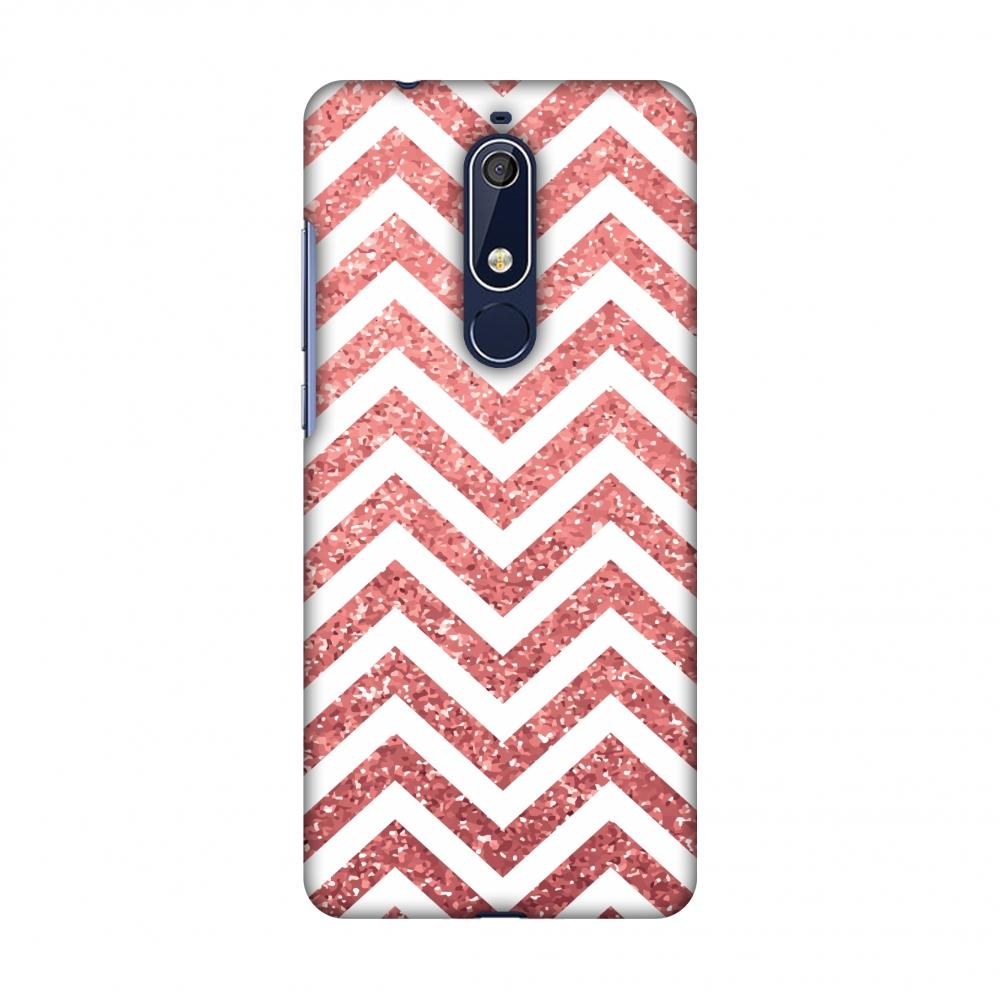 Chevron 1 Slim Hard Shell Case For Nokia 5.1