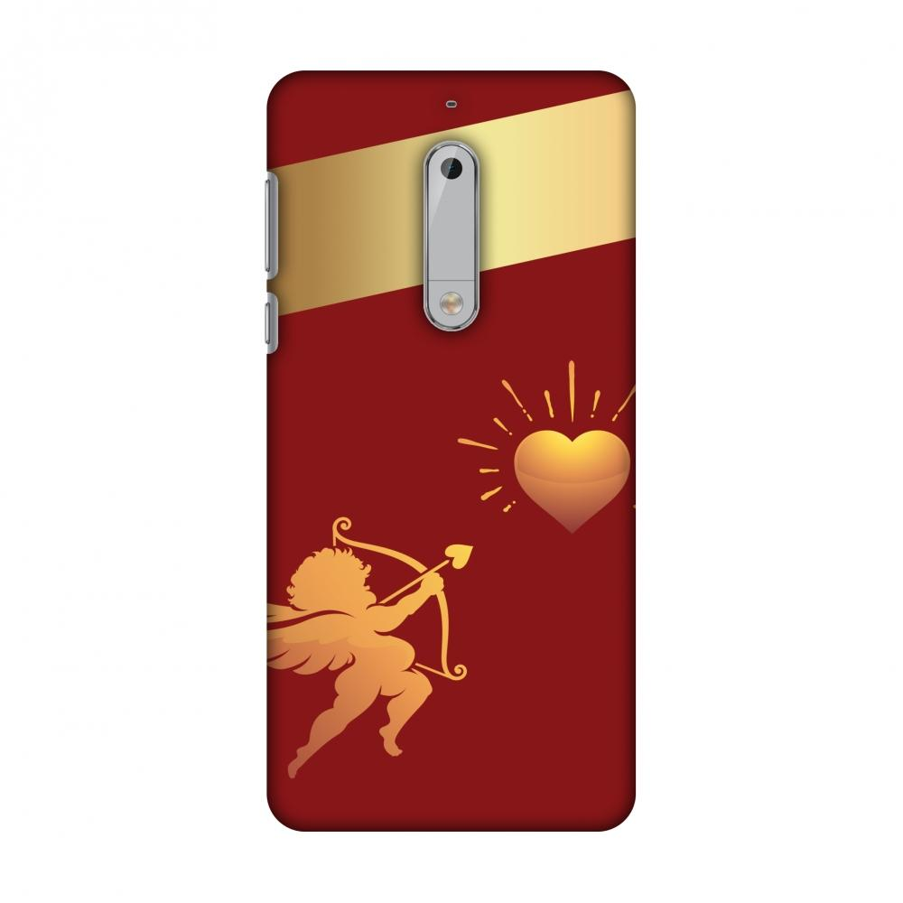 Angel Heart Slim Hard Shell Case For Nokia 5