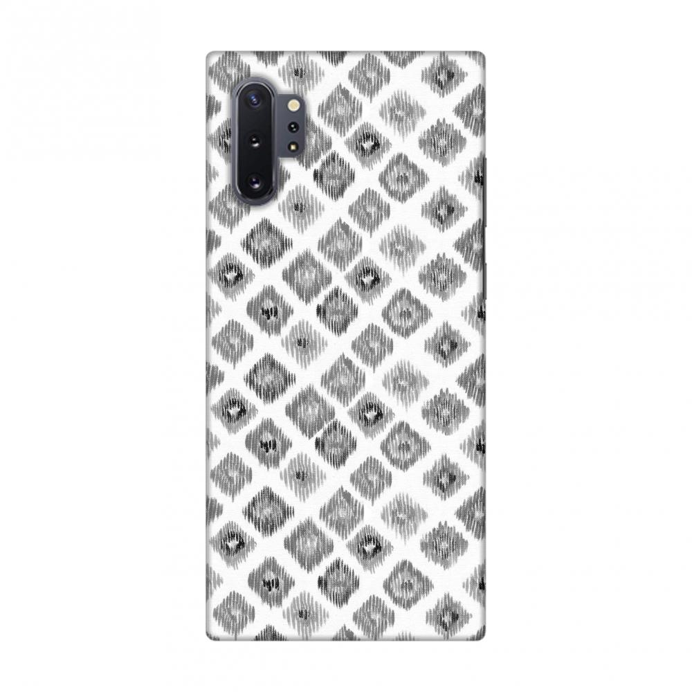 Ikats- Monochrome Slim Hard Shell Case For Samsung