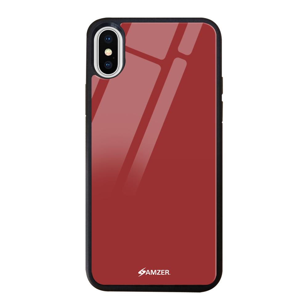 Rising Ruby Glass Case Cover For Apple iphone X/Xs