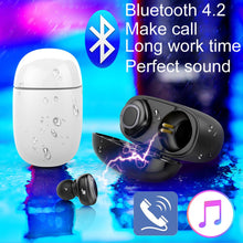 Load image into Gallery viewer, Mini True Wireless Twins Bluetooth Earbuds In-Ear