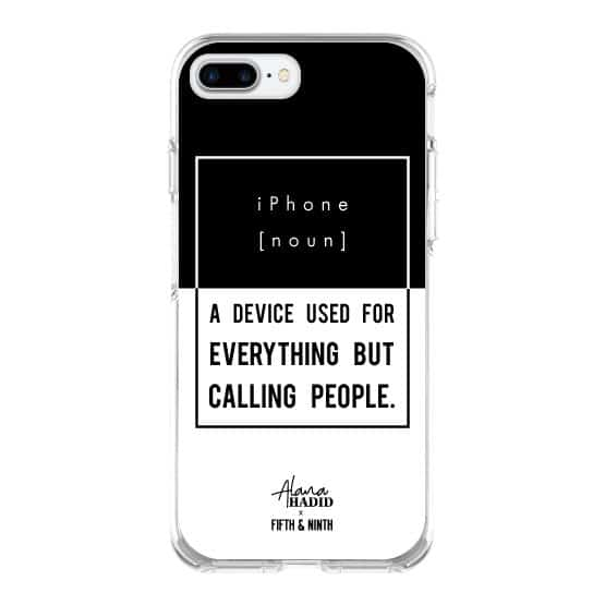 Real Talk iPhone Case