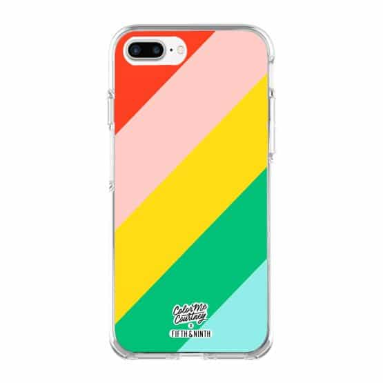 Walking on Rainbows iPhone Case