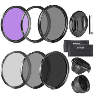 Kit de Filtre UV/FLD/CPL/ND2/ND4/ND8