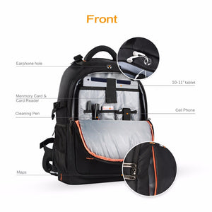 Sac a dos Photographe Professionnel Waterproof