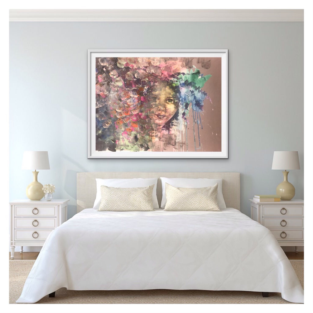 amanda_heath_art_on_display_in_bedroom