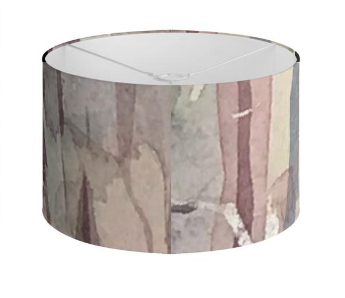 Woodland drum lampshade