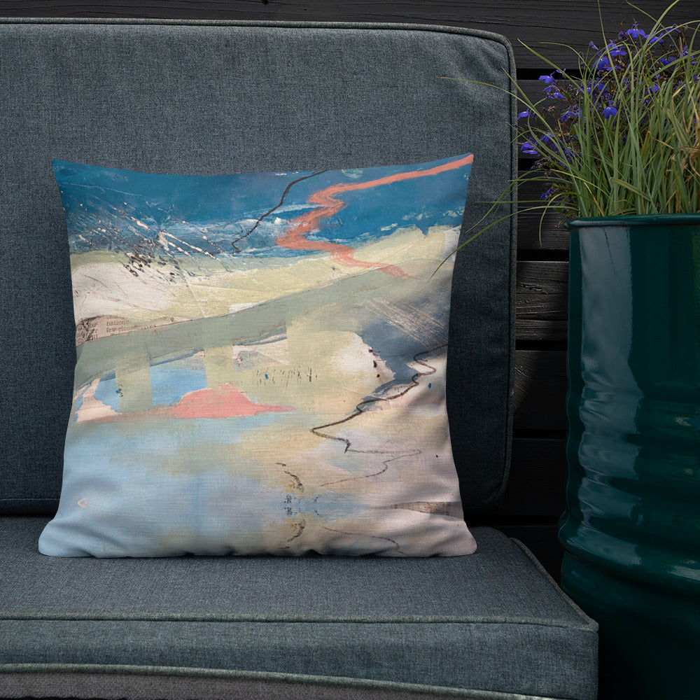 St Ives Reversible Art Premium Cushion