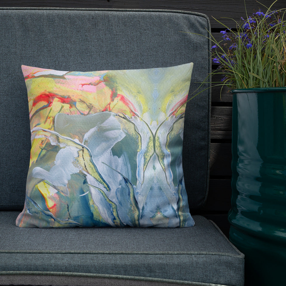 Barbados Reversible Art Cushion