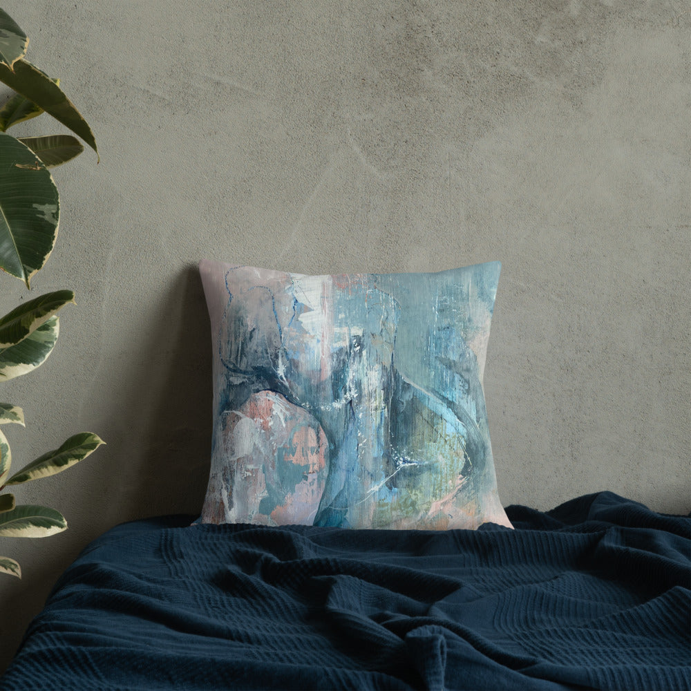 Reversible Art Premium Cushion