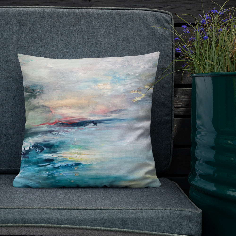 Heaven and Earth Reversible Art Cushion