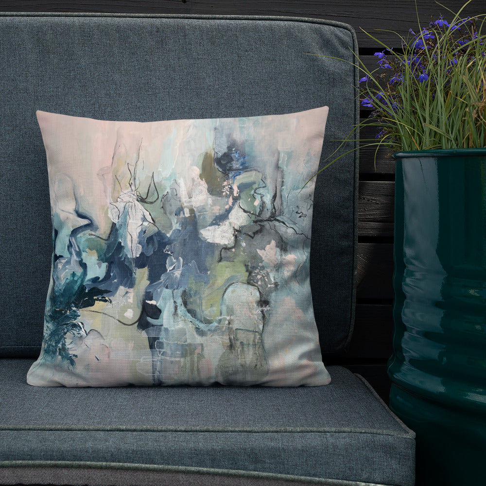 'The Dance' Reversible Art Design Cushion
