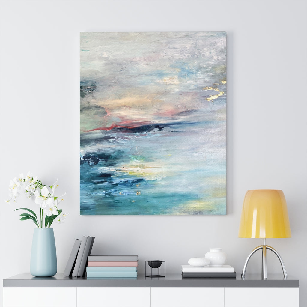 Between Heaven and Earth Stretched Canvas Fine Art Print