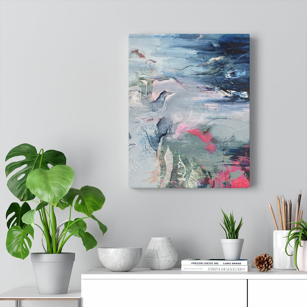 Wanderlust Stretched Canvas Fine Art Print
