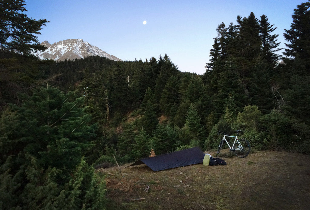 DSS2 bike packing camp site