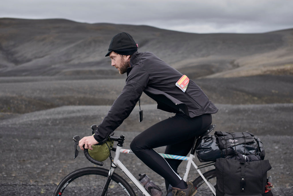 Donhou iceland bicycle rider