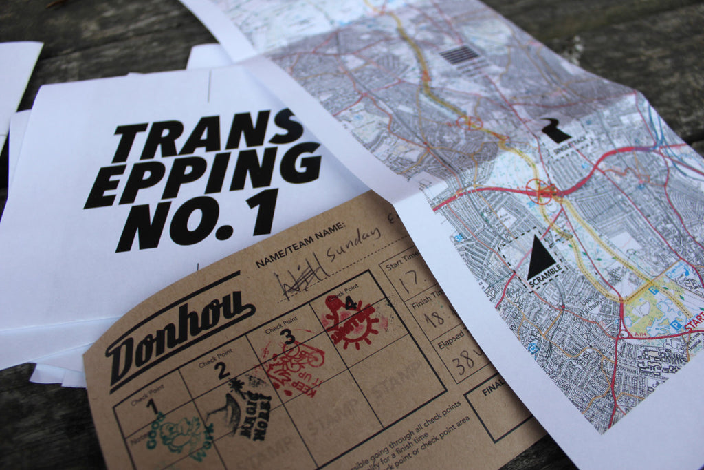 Trans Epping score card and map