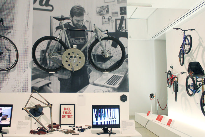 Donhou Experiments in Speed bike at Design Museum