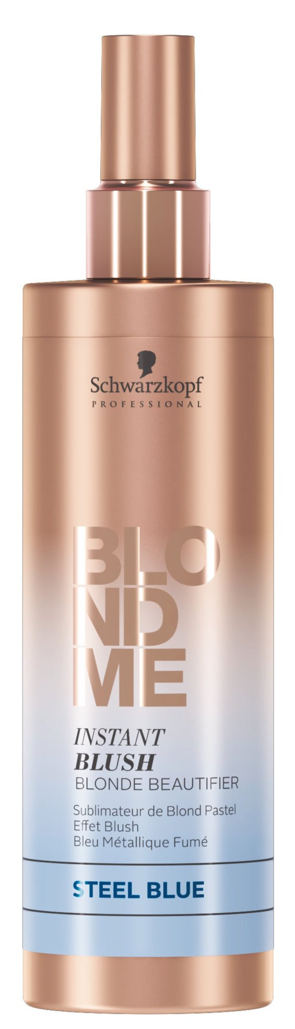 BlondMe Instant Blush Spray Steel Blue