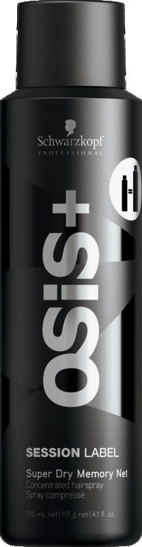 Osis+ Session Label Super Dry Memory Net Hairspray