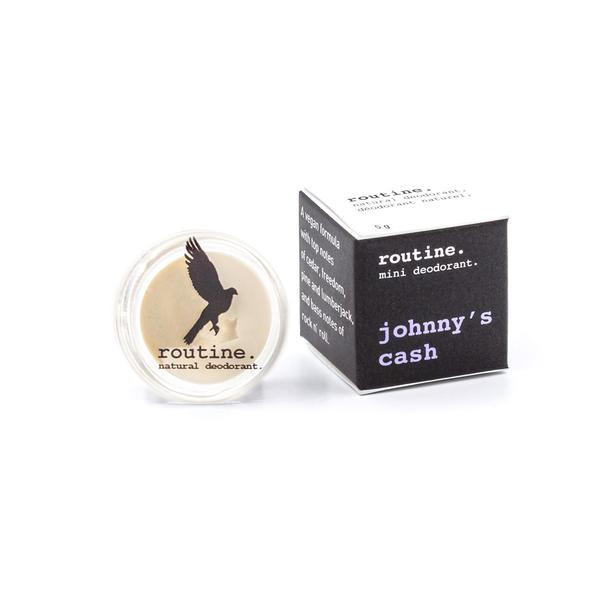 Routine Natural Deodorant Johnny's Cash Mini