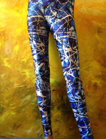 Planet Freddo Leggings Blue Moon