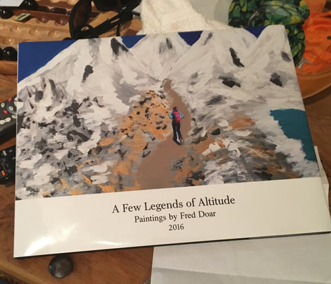 "Book of Original Paintings ""A Few Legends of Altitude"""