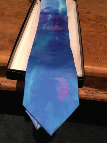 Silk Ties, Made in Italy, Mist