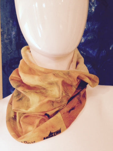 Solid Gold Bandana Scarf