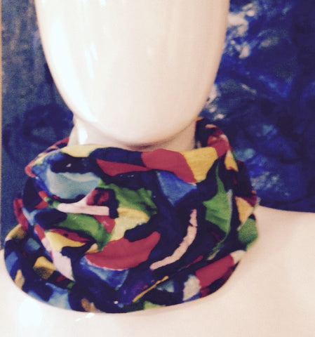 Stained Glass Bandana Scarf