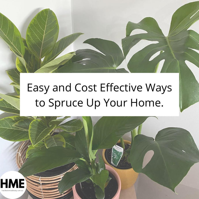 Easy And Cost Effective Ways to Spruce Up Your Home
