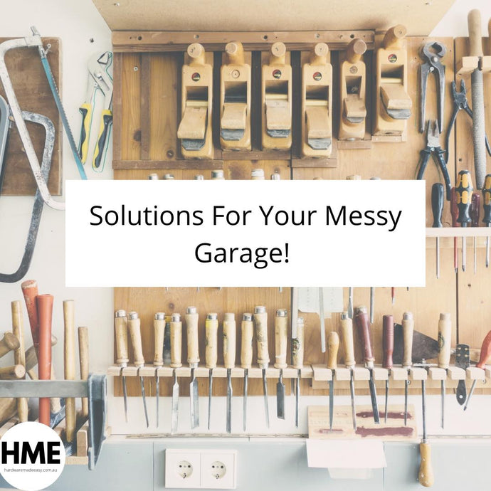 Solutions For Your Messy Garage!