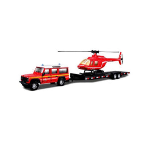 Bburago Emergency Force Vehicle Trailer 1:50 32041