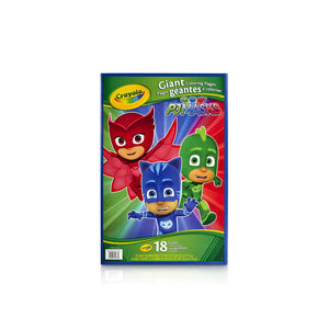 Crayola PJ Masks Giant Coloring Pages 040078