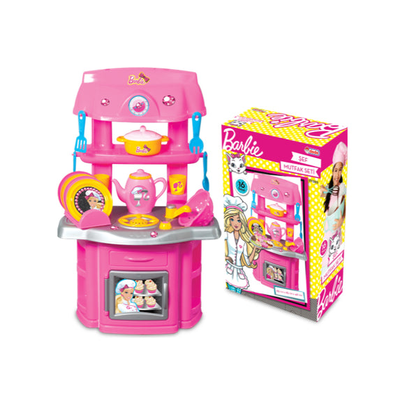 DEDE BARBIE CHEF KITCHEN SET 1503