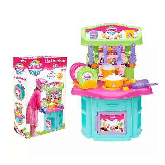 DEDE CANDY & KEN CHEF KITCHEN SET 1505