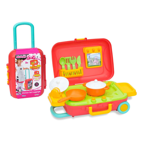 DEDE MINNIE MOUSE KITCHEN SET LUGGAGE 3479