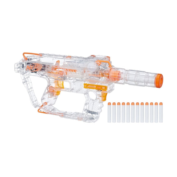 Hasbro Nerf Evader Modulus Motorized light gun with 12 official Nerf darts, E0733
