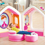 "INTEX Princess Play House Set 49"" x 43"" x 48"" With 1 Arm Chair & 1 Ottoman 48635"