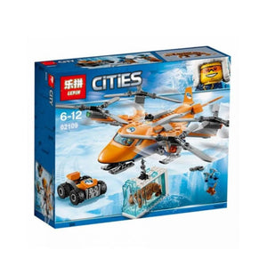 Lepin Cities Series Arctic Air Transport Blocks 310 Pcs 02109
