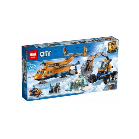 Lepin Cities Series Arctic Supply Plane Blocks 791 Pcs 02112