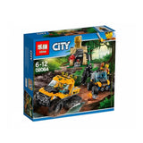 Lepin Cities Series Jungle Halftrack Mission Blocks 404 Pcs 02064