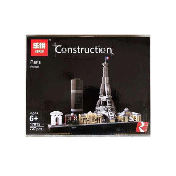 Lepin Construction Paris Blocks 727 Pcs 17015