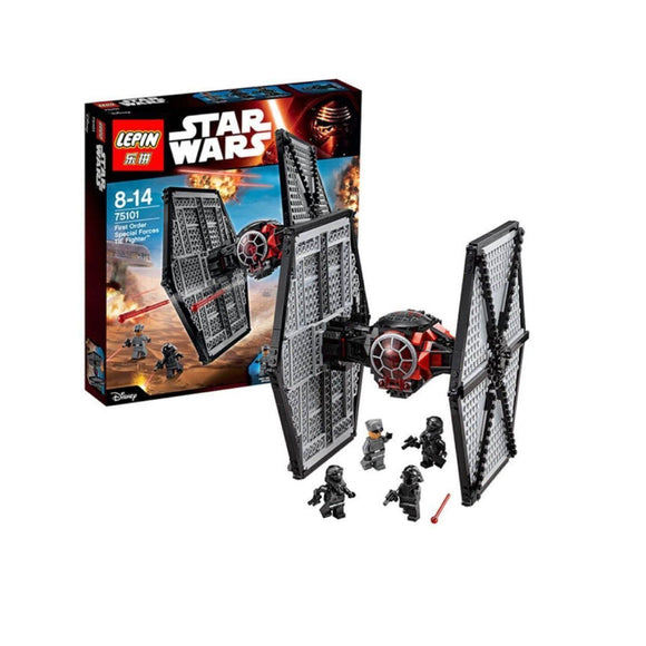 Lepin StarWars Series First Order Special Forces TIE fighter Blocks 562 Pcs 05005