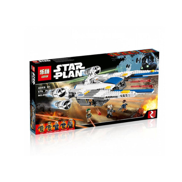Lepin StarWars Series Rebel U-wing Fighter Blocks 679 Pcs 05054