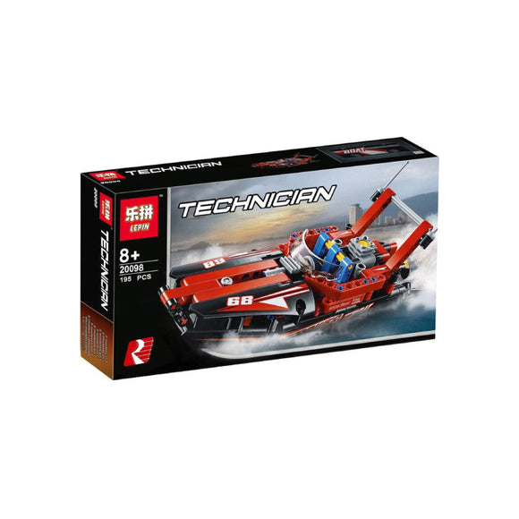 Lepin Technology Series Speedboat Blocks 195 Pcs 20098